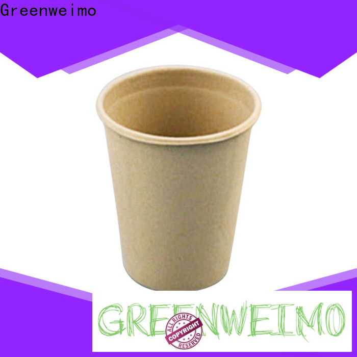 Greenweimo Wholesale bagasse plates company for drinking
