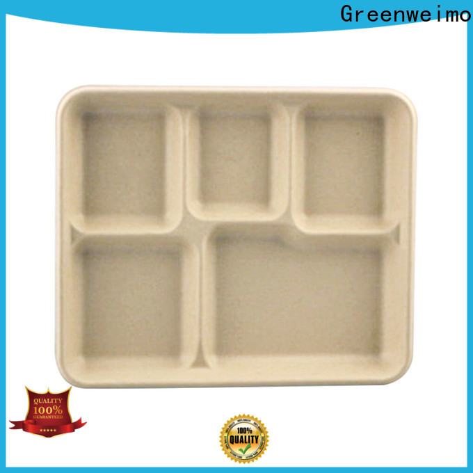 Best green tray bagasse for business for hot food