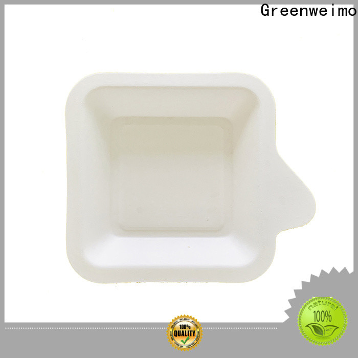 Latest biodegradable meat packaging trays bagssse for business for oily food
