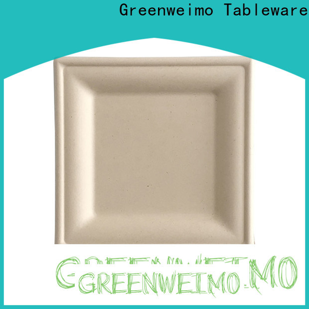 Greenweimo Top eco plates and cutlery for business for wet food