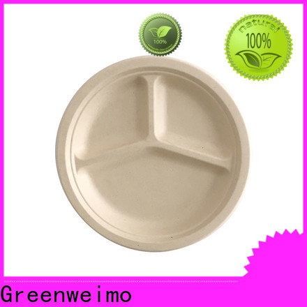 Greenweimo ellipse biodegradable disposable cups manufacturers for oily food