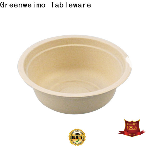 Greenweimo Custom biodegradable food packaging materials Supply for meal