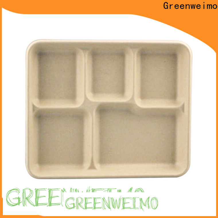 Greenweimo bagasse biodegradable to go containers company for oily food