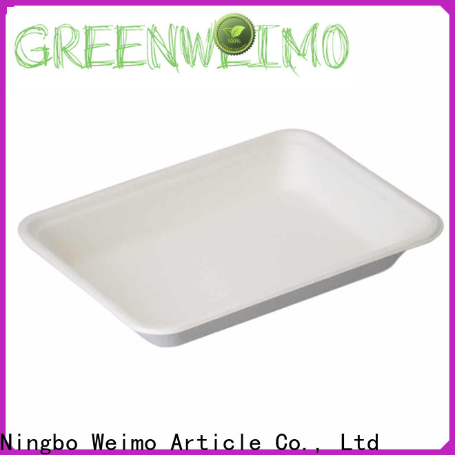 Greenweimo Custom environmentally friendly lunch trays factory for hot food