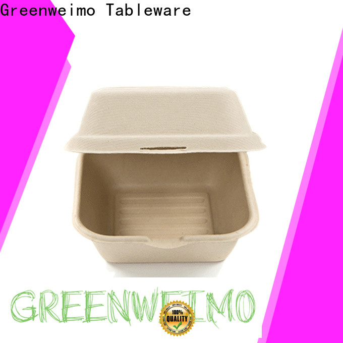 Greenweimo takeaway biodegradable to go food containers for business for food