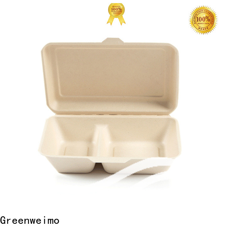 Greenweimo Wholesale biodegradable to go boxes for business for delivering