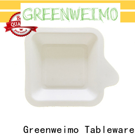 Greenweimo New environmentally friendly lunch trays factory for oily food
