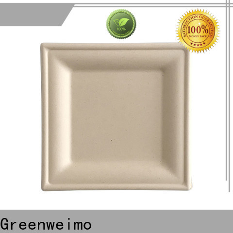 Greenweimo bagasse biodegradable flatware company for party