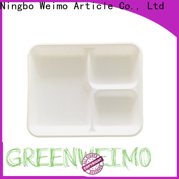 Greenweimo bagasse green packaging for business for hot food