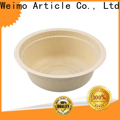 Greenweimo eco biodegradable tableware suppliers Suppliers for meal