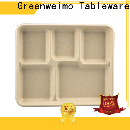 Greenweimo New eating trays factory for oily food