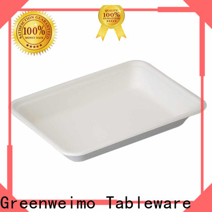 Latest biodegradable packing white Supply for hot food