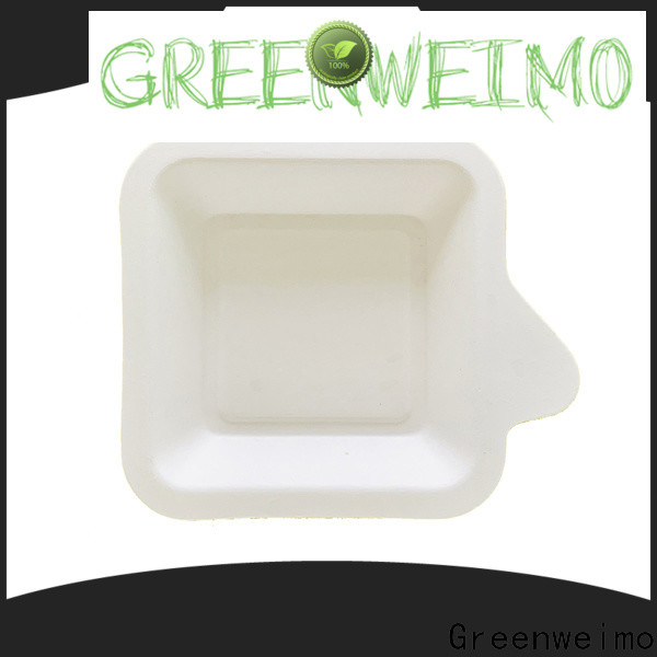 Greenweimo bagssse biodegradable materials factory for oily food