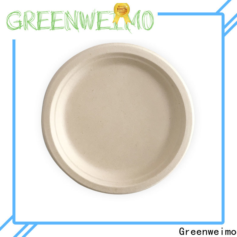 Greenweimo biodegradable eco friendly disposable bowls factory for oily food