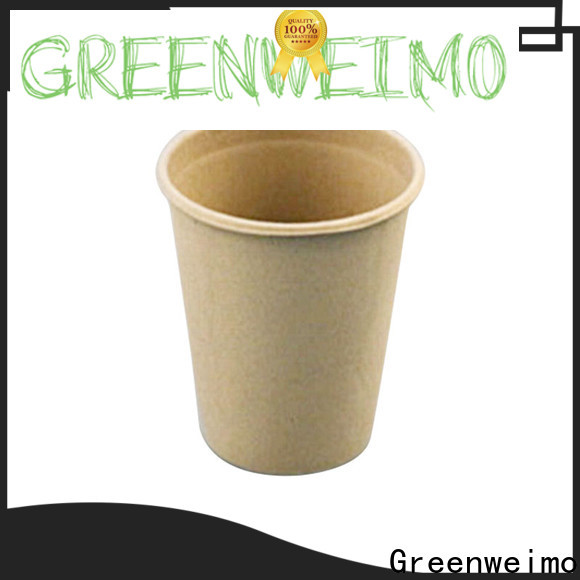 Greenweimo hinged recyclable drinking cups for business for drinking