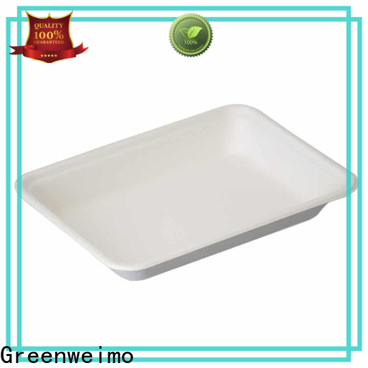 Best eco friendly tableware sugarcane factory for hot food