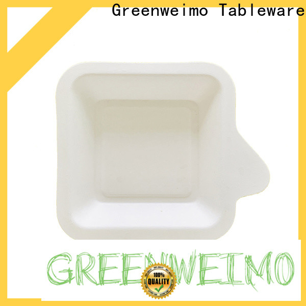 Wholesale recycled paper food trays sugarcane Supply for oily food