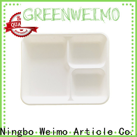 Greenweimo Best recycled paper food trays for business for hot food