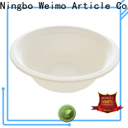 High-quality bagasse cups sugarcane company for meal