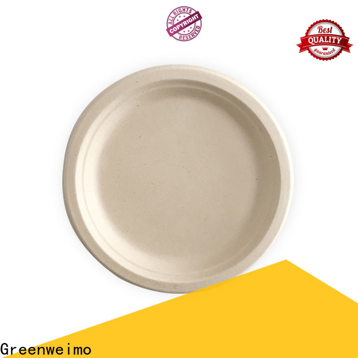 High-quality eco friendly paper plates manufacturers material company for party