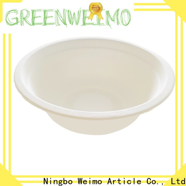 Greenweimo tableware compostable bowls manufacturers for cake
