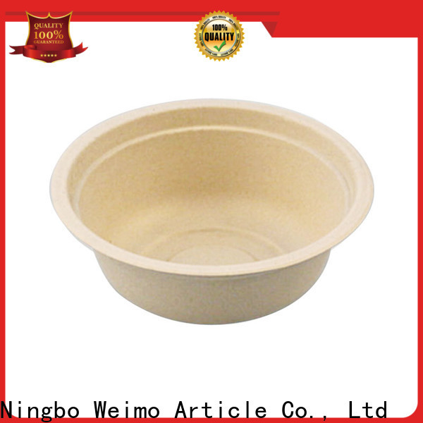 Greenweimo Wholesale compostable soup bowls Suppliers for cake