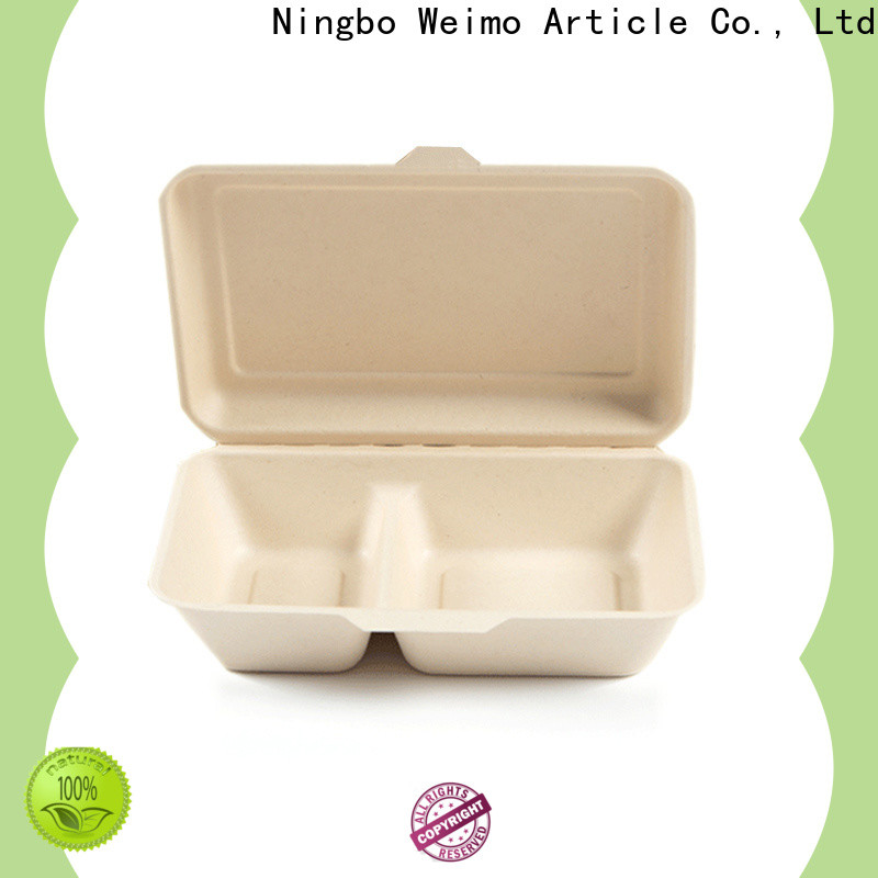 Greenweimo foldable eco food packaging company for food