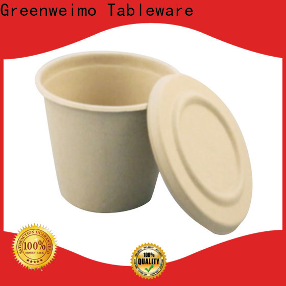 Greenweimo tableware biodegradable food packaging factory for water