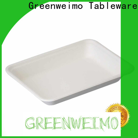 Latest environmentally friendly lunch trays white manufacturers for wet food