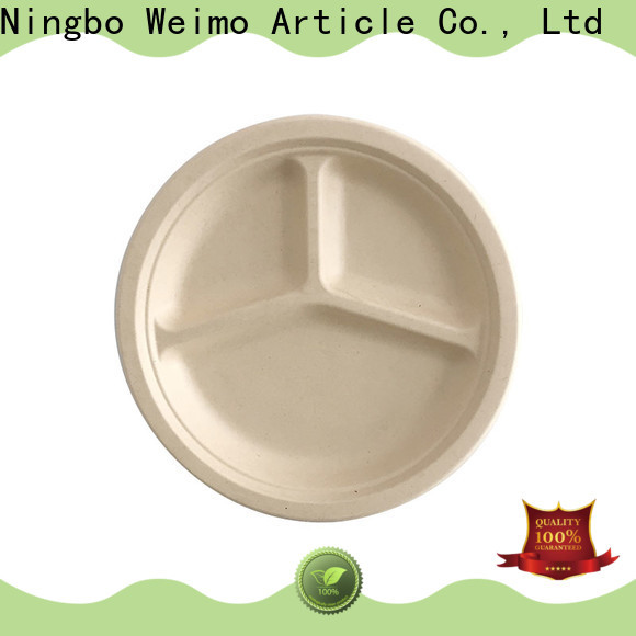Greenweimo ellipse green plates and bowls factory for wet food