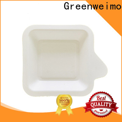 Greenweimo Latest compostable food trays Supply for hot food
