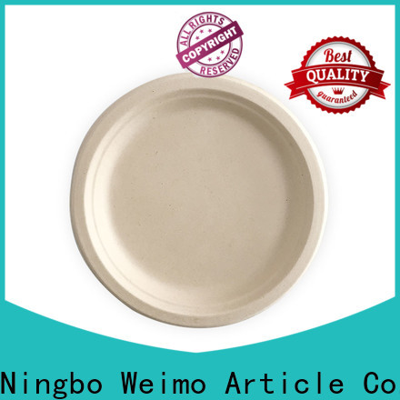 Greenweimo plate biodegradable bowls Suppliers for party