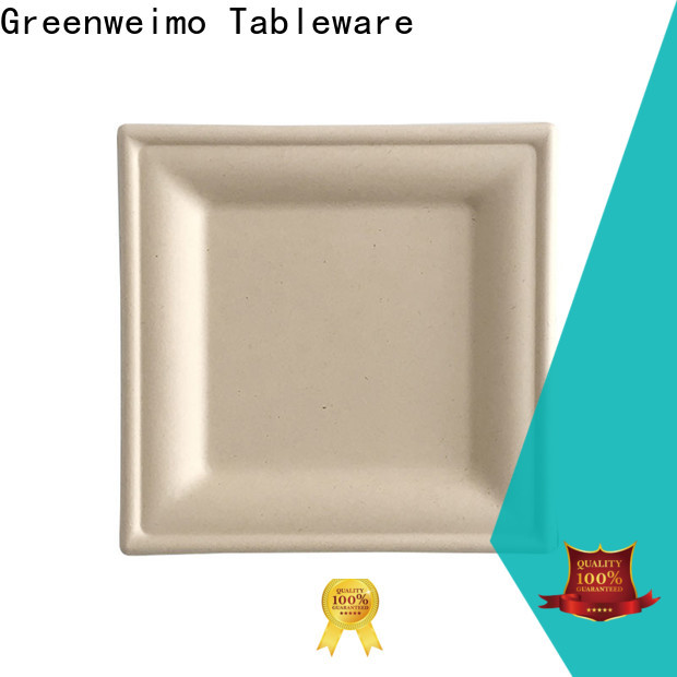 Greenweimo Wholesale sugarcane plates for business for wet food