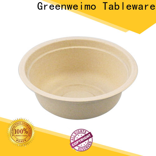 Greenweimo Custom compostable soup bowls factory for cake