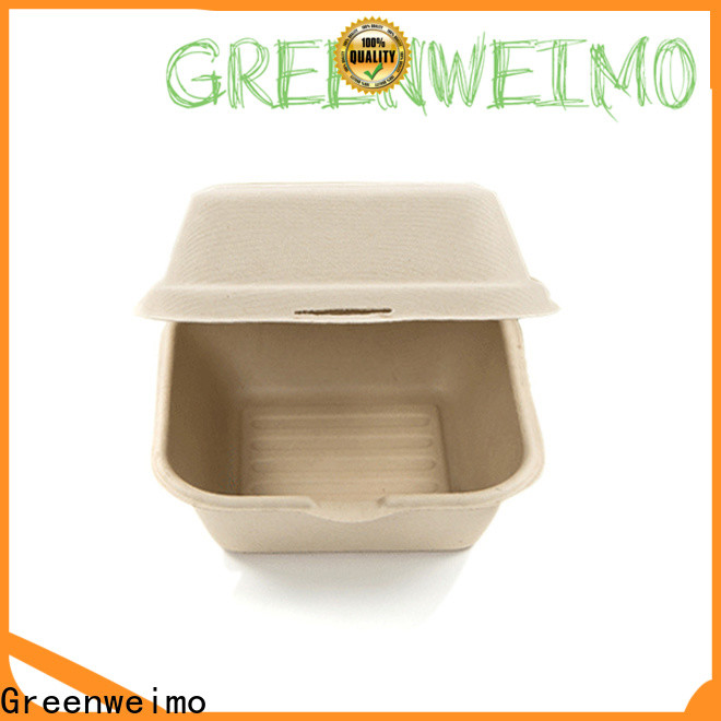 Greenweimo foldable biodegradable food packaging suppliers manufacturers for package