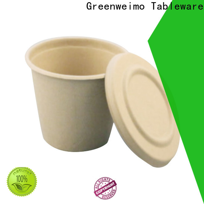 Greenweimo Top biodegradable to go containers company for water
