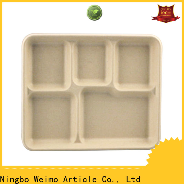 Greenweimo High-quality biodegradable meat packaging trays company for oily food