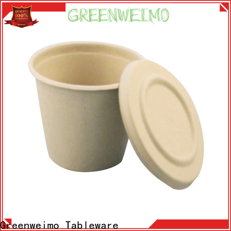 Greenweimo safe biodegradable cups wholesale factory for water