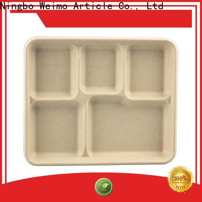 Greenweimo white lunch tray Supply for oily food