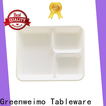 Greenweimo New biodegradable meat trays manufacturers for party