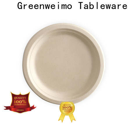 Custom sugarcane disposable plates plate Suppliers for wet food