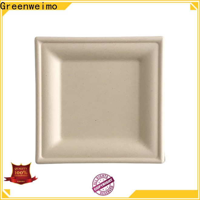 Custom wholesale paper plates compartment company for wet food