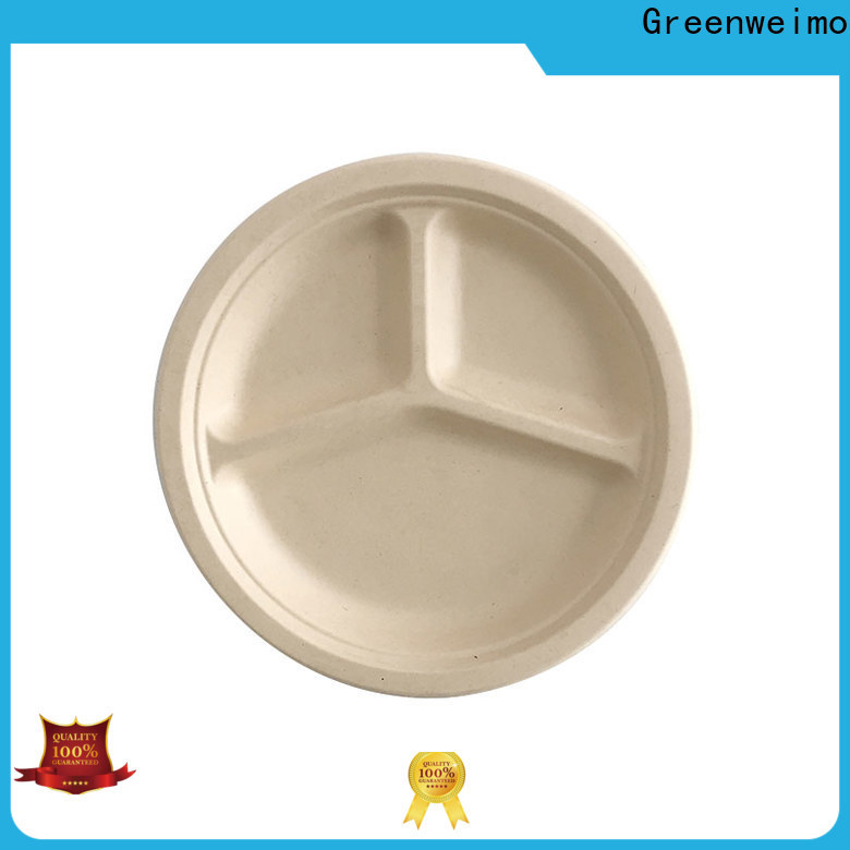 Latest wholesale disposable dinnerware bagasse manufacturers for wet food