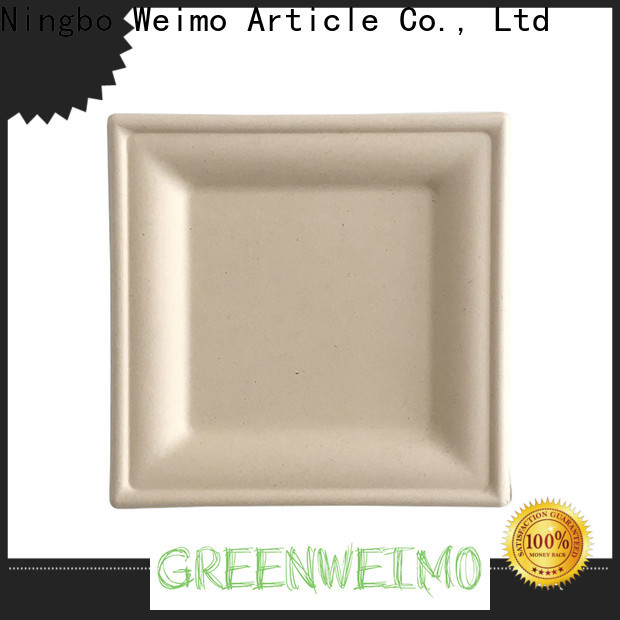 Greenweimo bio bagasse bowl company for wet food