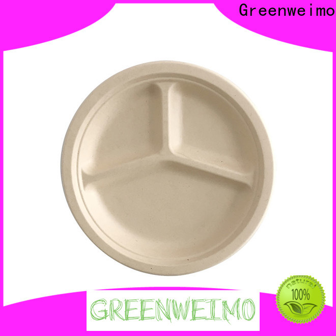 Greenweimo disposable biodegradable disposable bowls Suppliers for hot food
