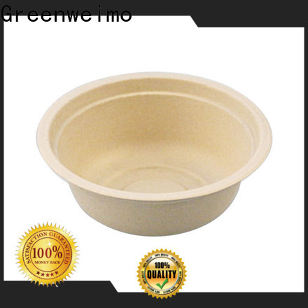 Greenweimo natural compostable soup bowls Supply for food