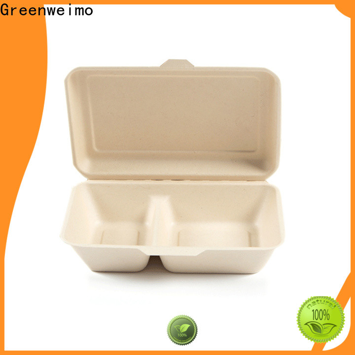 Custom bagasse containers container for business for delivering