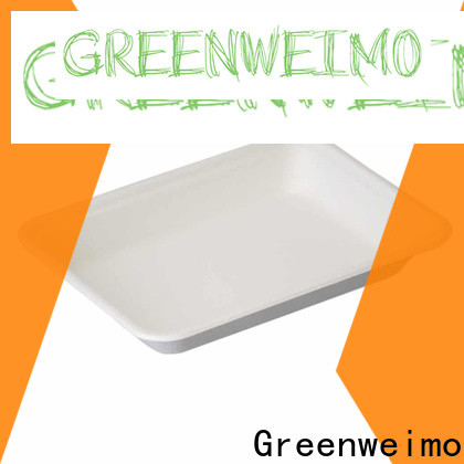 Greenweimo sugarcane biodegradable sugarcane products manufacturers for hot food