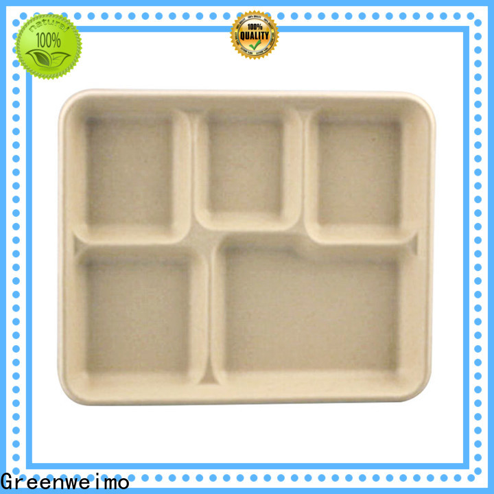 Top green tray biodegradable Supply for hot food