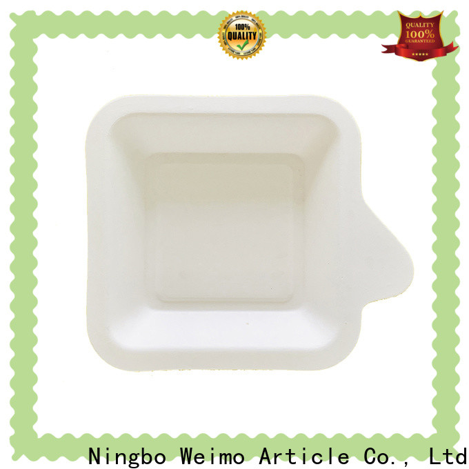 Greenweimo Latest eco friendly tableware factory for oily food